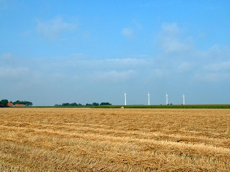 Windräder in Ostfriesland